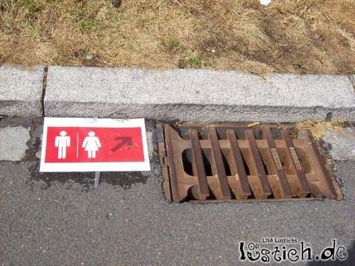 Gulli-Toilette
