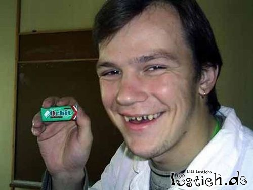 Zahnpflegekaugummi