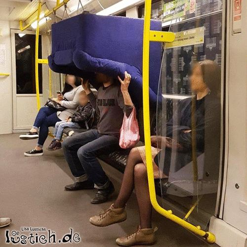 Ohne Umzugshilfe mit dem Zug