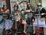Krasse Motorrad Gang