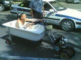 Badewannenmotorrad