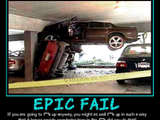 Misslungener Parkversuch