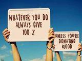 Gib immer 100%