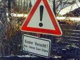 Kinder Vorsicht