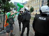Polizei verprügeln
