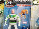 Buzz als Avenger
