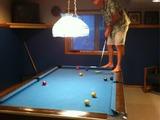 Mein Vater spielt Billard