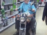 Cooler Rollstuhl