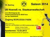 Hoeneß-Ticket