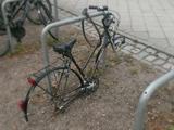 Halbes Fahrrad