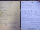 Einen Brief an Google