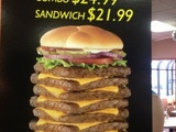 Großer Burger