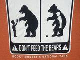Keine Bären füttern
