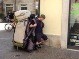Schweres Gepäck