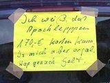 Botschaft für den Polizisten