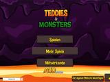 Teddies und Monster