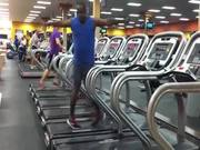 Laufband-Tanz