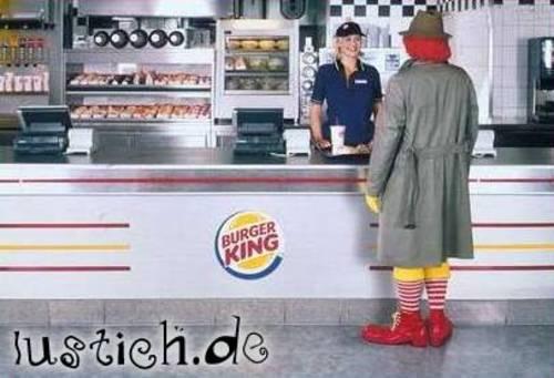 Ronald McDonald geht fremd