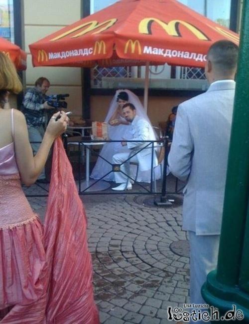 Mc Donalds Hochzeit