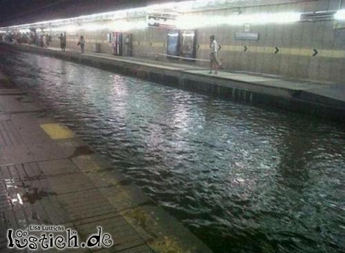 verspätete U-Bahn