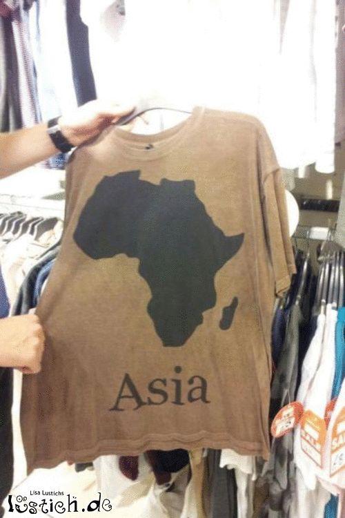 Asien-Shirt