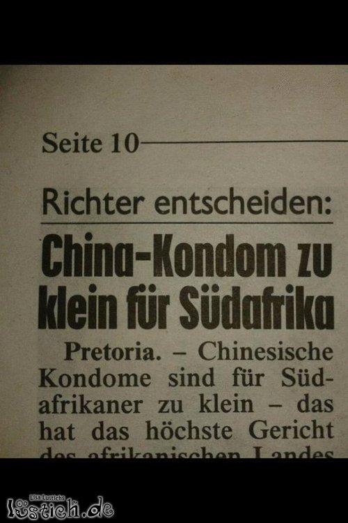 China-Kondom