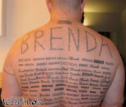 Er liebt Brenda