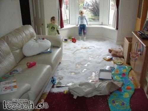Das war ein Wohnzimmer
