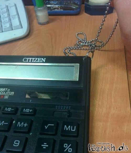 Taschenrechnerkette