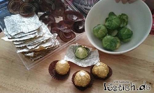 Grüne Schokolade