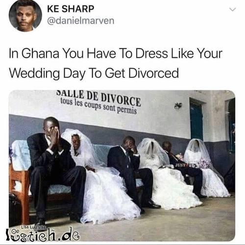 Scheiden lassen in Ghana