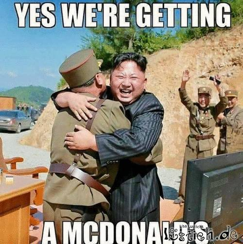 McDonalds in Nordkorea