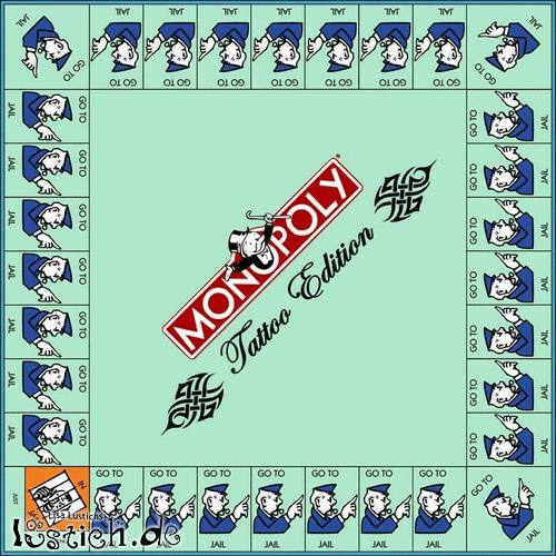Monopoly Tattoo Edition