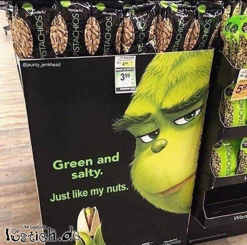 Grün und salzig