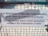 Die Direktion kann nicht gehafted werden