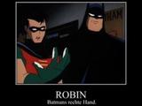 Batmans rechte Hand