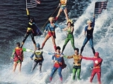 Superhelden Wasserski
