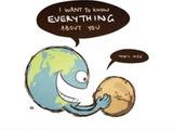 Erde und Mars