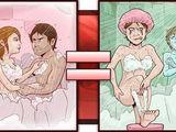 Mit der Freundin duschen