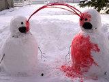 Blutiger Schnee