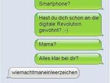 Die Anfänge des Smartphones ... und Mama!