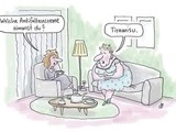 Tiramisu als Antifaltencreme