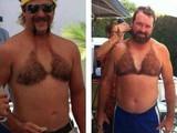 Haariger Bikini für Männer