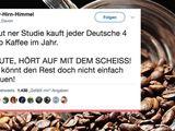 Kaffeeverbrauch